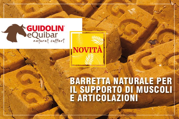 Guidolin Equibar - barretta naturale per il supporto di muscoli e articolazioni