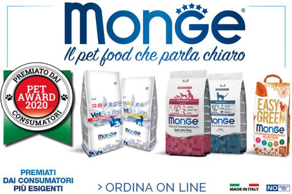Monge - Il pet food che parla chiaro