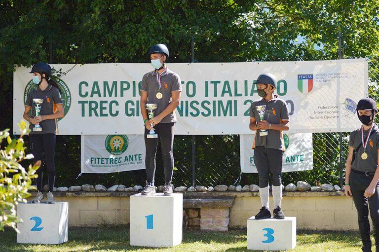 Si conclude con un buon successo di numeri la prima tappa del Campionato Nazionale TREC Giovanissimi 2020