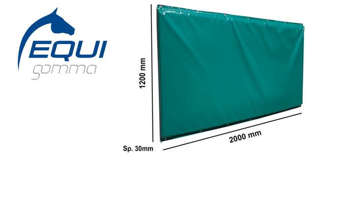 Da EQUIGOMMA il materasso protettivo da parete