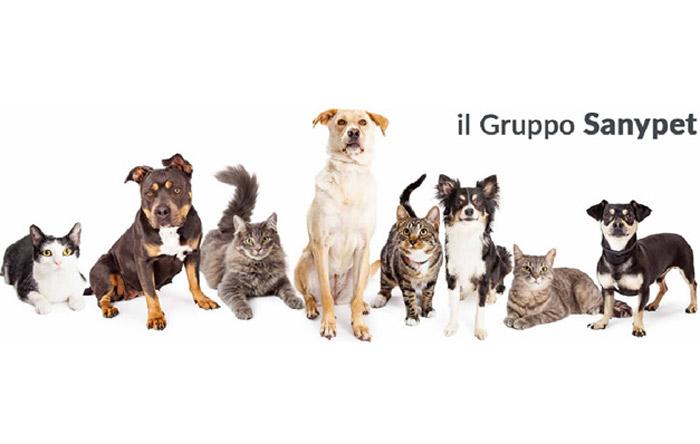 Gruppo SanyPet. L'amore verso gli animali e lo stabilimento certificato BIO per un benessere a 360°.