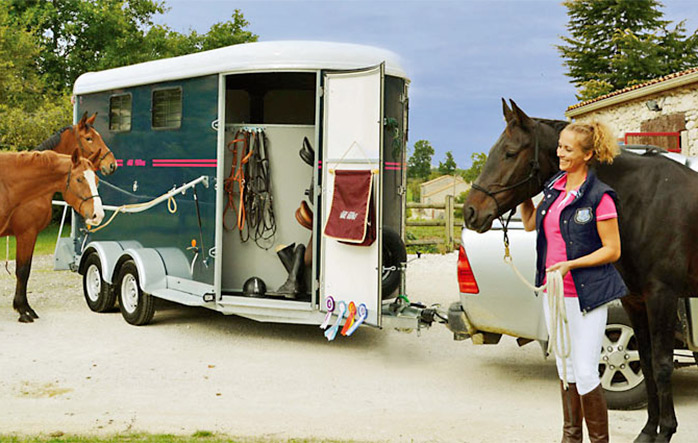 Viaggi sul trailer in sicurezza