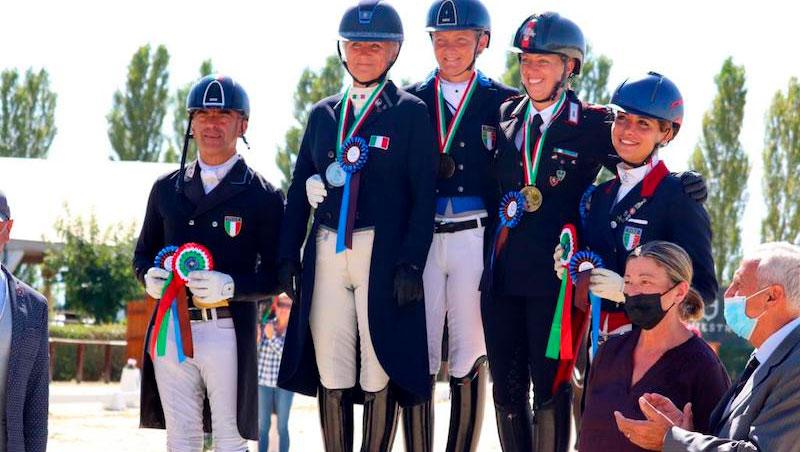 Campionati Italiani DeNiroBootCo Dressage: A Nausicaa Maroni il titolo Tecnico